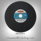 Metal Cut-Off disc. x pack of 5  355mm x3.0 x25.4