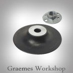 180mm Rubber Sanding disc Backing Pad