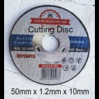 50mm Cutting disc x 1.2mm x 10mm hole x 50
