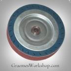 Expander Wheel for your bench grinder 150mm x 30mm incl 3 belts