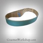 Pipe Sander belts..760mmx40mm.. ...Zircon