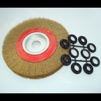 Wire Brush Wheel for Bench Grinder 200mm (8 inch